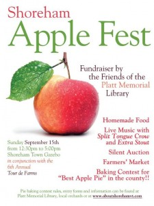 Shoreham's Apple Fest September 15th 12:30pm - 5:00pm